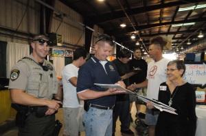 Pinal County Deputies sign CameraFRAUD's petition